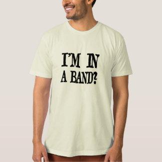 Mig förmiddag i ett musikband? Organisk T-tröja Tee