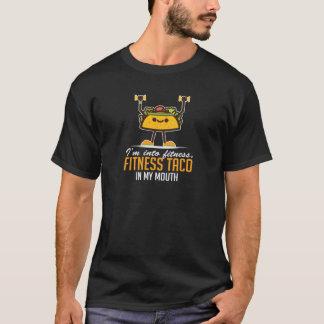 Mig förmiddag in i konditiontacoen i min mun tee shirt