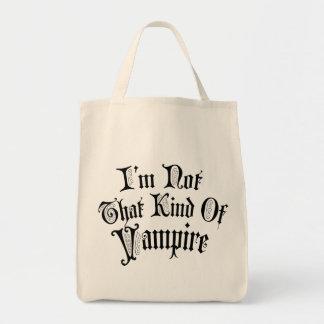 Mig förmiddag inte den sort av vampyren mat tygkasse