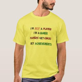Mig förmiddag inte en spelare mig förmiddag en tröjor