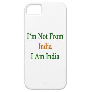 Mig förmiddag inte från Indien mig förmiddag Indie iPhone 5 Case-Mate Skydd