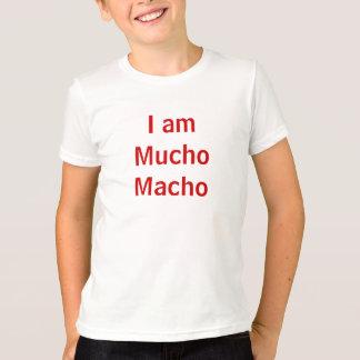 Mig förmiddag macho Mucho Tee Shirts