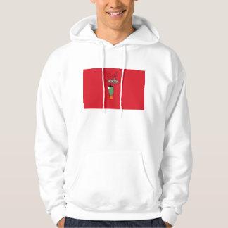 Mig förmiddag med den grabb sweatshirt med luva