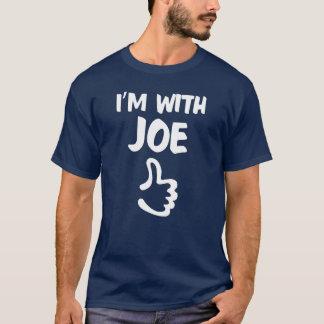 Mig förmiddag med den marinblåa Joe skjortan - T Shirt