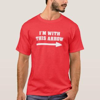Mig förmiddag med denna pil tröjor