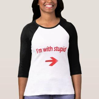 Mig förmiddag med dumma damer 3/4 sleeveRaglan T Shirt