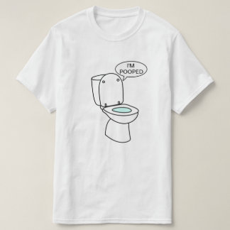 Mig förmiddag Pooped Tshirts