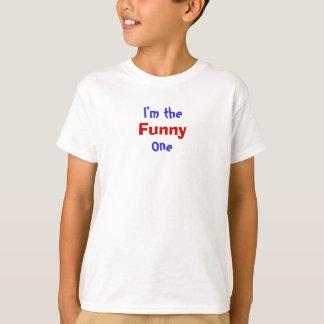 Mig förmiddag, roligt, ett tee shirt