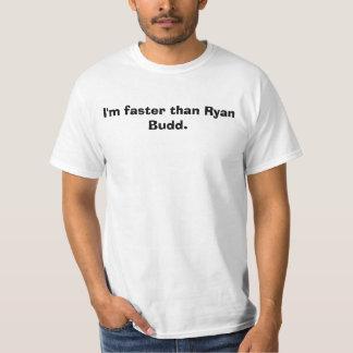 Mig förmiddag snabbare än Ryan Budd. Tröjor