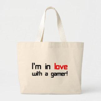 Mig förmiddag som är förälskad med en Gamer Jumbo Tygkasse