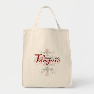 Mig förmiddag som är förälskad med en vampyr mat tygkasse