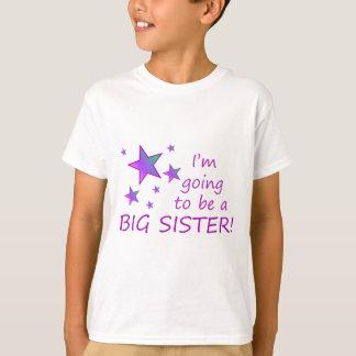 Mig förmiddag som går att vara en storasyster! tee shirt