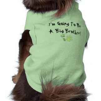 Mig förmiddag som går att vara en storebror! långärmad hundtöja