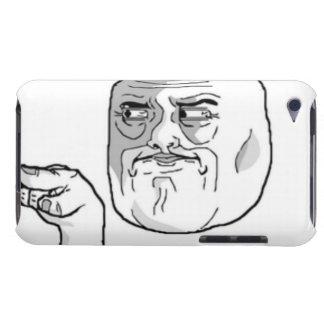 Mig förmiddag som håller ögonen på iPod touch Case-Mate skydd