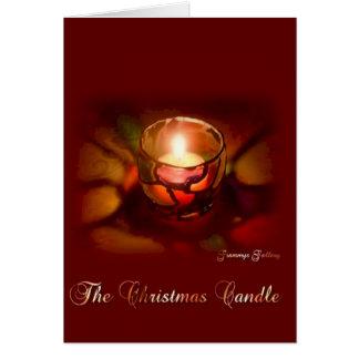 Mig förmiddag som överför dig en julWish Hälsningskort