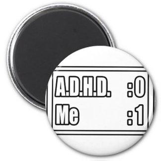 Mig förmiddag som slår A.D.H.D. (funktionskortet) Magneter För Kylskåp