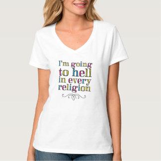 Mig förmiddag som till helvetet går i varje tee shirts