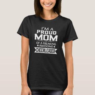 Mig förmiddag STOLT en hejaklacksledare MAMMA T Shirts