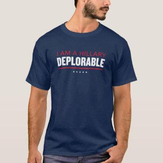 """I Am a Hillary Deplorable"" Trump Pence T-shirt"