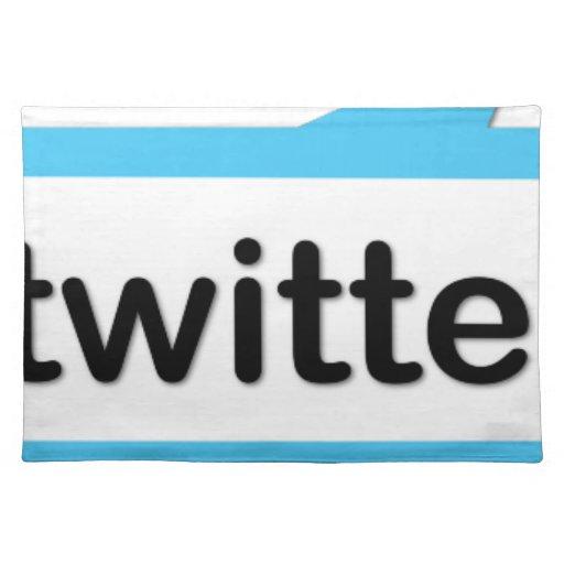 Mig förmiddag Twitterific Bords Underlägg