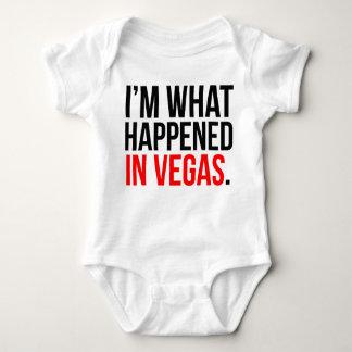 Mig förmiddag vad händde i Vegas babyskjorta Tee Shirts