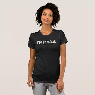 Mig förmiddagberömd. Rolig utslagsplatsskjorta T Shirts