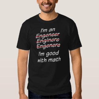 Mig förmiddagbra med math t-shirt
