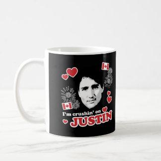 Mig förmiddagcrushin på Justin - .png Kaffemugg