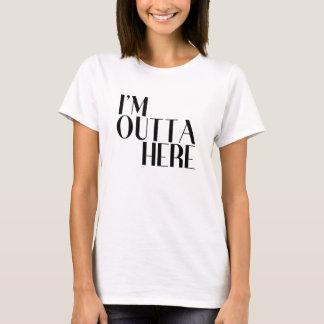 Mig förmiddagOutta här rolig avvikelse T Shirt