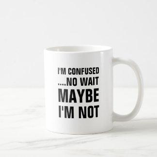 Mig förvirrad förmiddag… ingen väntan kanske mig kaffemugg