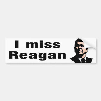 Mig Fröcken Reagan Bildekal