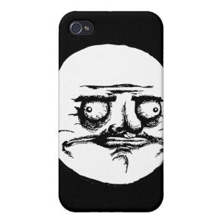 Mig Gusta ansikte iPhone 4 Fodral