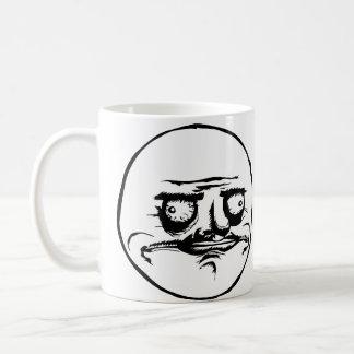 Mig Gusta ansikte Meme Kaffemugg