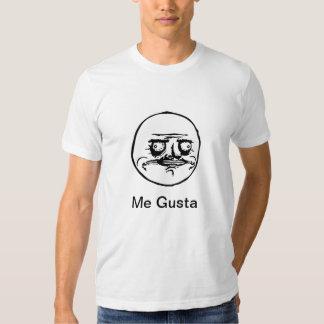 Mig Gusta Meme T-tröja Tee Shirts