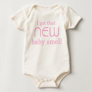 Mig har som nyfödd bebislukt bodies