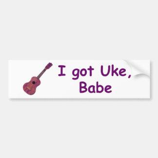 Mig har Uke, Babe Bildekal