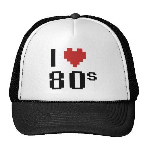 Mig hjärta 80-tal mesh kepsar