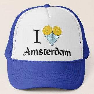 Mig hjärta Amsterdam Truckerkeps