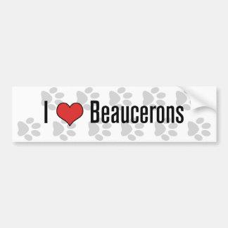 Mig (hjärta) Beaucerons Bildekal