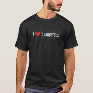 Mig (hjärta) Beaucerons (mörk) T Shirt