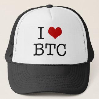 Mig hjärta Bitcoin Truckerkeps