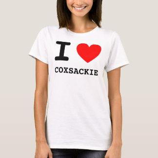 Mig hjärta COXSACKIE T-shirts