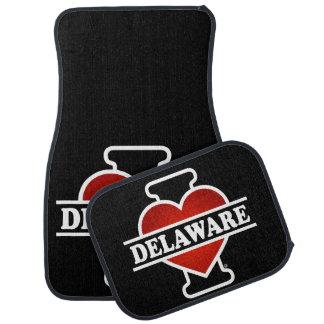 Mig hjärta Delaware Bilmatta