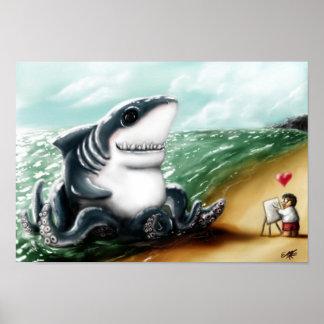 Mig hjärta dig, Sharktopus Poster