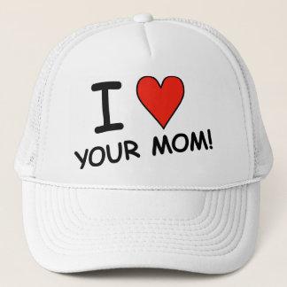 """Mig """"hjärta"""" din mamma! Lock Truckerkeps"""