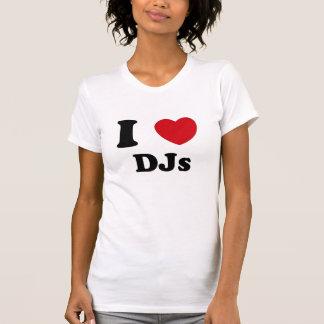 Mig hjärta Djs Tee Shirts