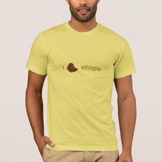 mig hjärta ethiopia t-shirts