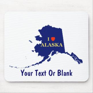 Mig hjärta (kärlek) Alaska Mus Mattor