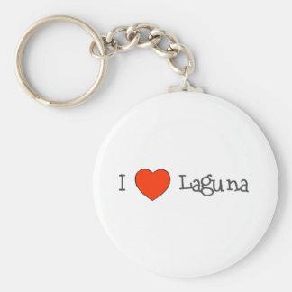 Mig hjärta Laguna Rund Nyckelring
