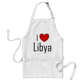 Mig hjärta Libyen Förkläde